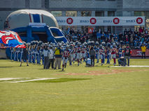 Montreal Alouettes Football Club Stock Photos