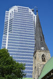 Montreal Anglican Christ Church Cathedral Royalty Free Stock Images