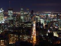 Montreal-Ansicht vom Berg königlich lizenzfreie stockfotografie