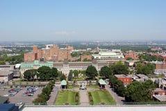 Montreal-Ansicht von der Montierung königlicher Str.-Joseph stockfoto