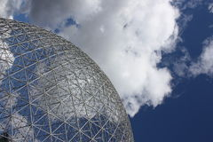 Montreal Biosphere. Biosphere in Montreal where was Expo 67 Royalty Free Stock Photo
