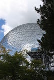Montreal Biosphere. View on the biosphere in Montreal canada where was the expo 1967 Stock Photo