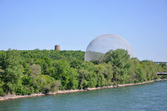Montreal Biosphere in Montreal, Quebec, Canada Royalty Free Stock Photography