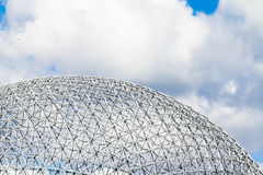 Montreal Biosphere Structure details Royalty Free Stock Images