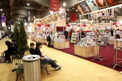Montreal Book Fair Royalty Free Stock Photography