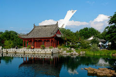 Montreal-botanischer Garten Lizenzfreie Stockbilder