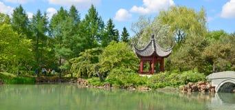 Montreal-botanischer Garten stockfoto