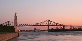 Montreal bro royaltyfria foton