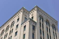Montreal Buduje z lwa kamienia cyzelowaniami Zdjęcia Stock