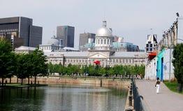 Montreal céntrica imagen de archivo