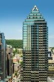 Montreal céntrica constructiva moderna Foto de archivo libre de regalías