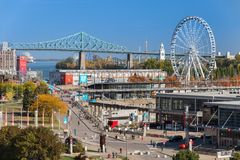 Old Port of Montreal royalty free stock photography