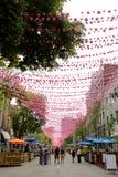 Montreal, calle de Ste-Catherine Fotografía de archivo libre de regalías