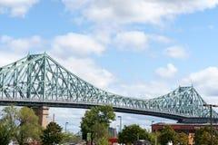 Puente de Jacques Cartier Imágenes de archivo libres de regalías