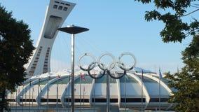Montreal, Canadá - Montreal el estadio Olímpico el 31 de julio de 2013 imagen de archivo