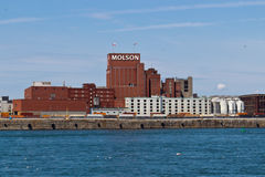 MONTREAL, CANADA - August 24, 2013: The Molson Brewery At The O Royalty Free Stock Photos