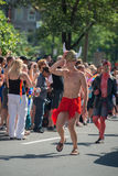 MONTREAL, CANADA - AUGUST, 18 2013 - Gay Pride parade Royalty Free Stock Photo