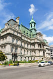 Montreal City Hall Royalty Free Stock Photo