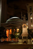 Place d'Armes by night in Montreal, Canada Royalty Free Stock Image