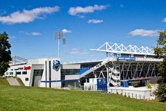MONTREAL, CANADA - August 23, 2013: Saputo Stadium the home of the Montreal Impact Royalty Free Stock Images