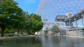 Montreal Canada 2014. Biodome in Montreal Canada Museum Stock Photo