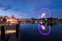 Montreal Observation Wheel royalty free stock images