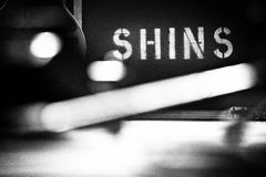 MONTREAL, CANADA, May 23, 2013, The Shins in concert at the Metropolis. Stock Images
