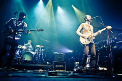 MONTREAL, CANADA, May 23, 2013, The Shins in concert at the Metropolis. Stock Photography