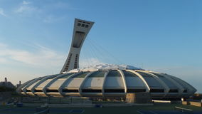 Montreal, Canada - Montreal Olympic Stadium on July 31, 2013. The Montreal Olympic Stadium in the Hochelaga-Maisonneuve district of Montreal, Quebec. This Stock Photography