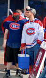 Montreal Canadians fan Stock Photo