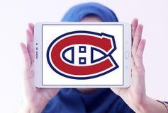 Montreal Canadiens lodu drużyny hokejowej logo Obrazy Royalty Free