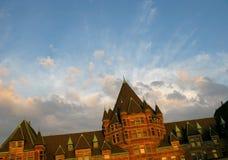 Montreal castle stock photos