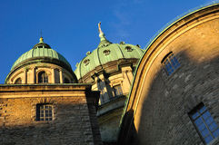 Montreal cathedral. stock images