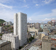 Montreal city Royalty Free Stock Photography