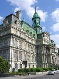 Montreal City Hall Stock Image