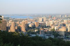 Montreal City stock photos
