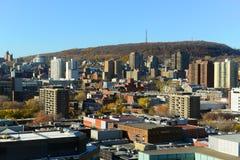Montreal city skyline, Quebec, Canada Stock Image