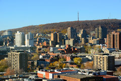 Montreal city skyline, Quebec, Canada Royalty Free Stock Photography