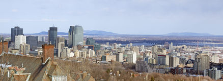 Montreal city Stock Image