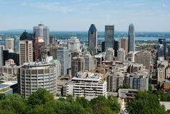 Montreal city view Stock Photography