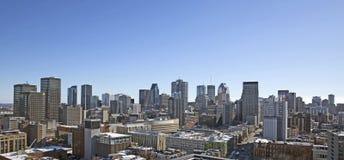 Montreal city Royalty Free Stock Photos