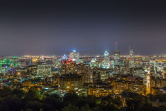 Montreal Cityscape Royalty Free Stock Image