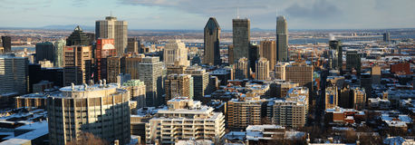 Montreal cityscape Stock Images