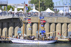Montreal Classic Boat Festival Stock Images