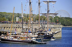 Montreal Classic Boat Festival Royalty Free Stock Image