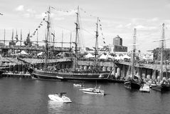 Montreal Classic Boat Festival Royalty Free Stock Photography