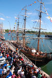 Montreal Classic Boat Festival Royalty Free Stock Photo