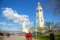 Montreal Clock Tower Royalty Free Stock Photos