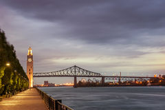 Montreal Clock Tower at The Old Port Royalty Free Stock Photo