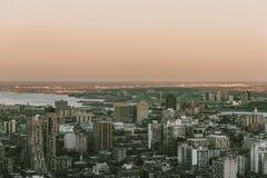 Montreal dai 2 principali Immagini Stock